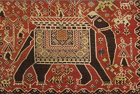 ikat rug repair