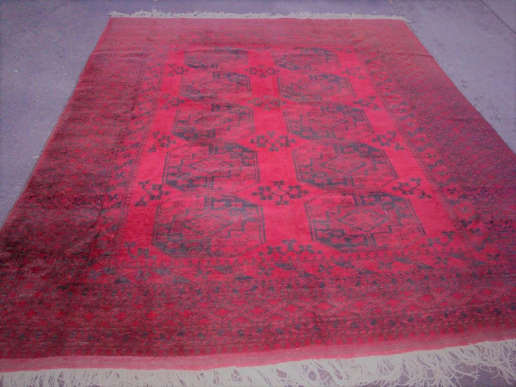 afghan rug repir
